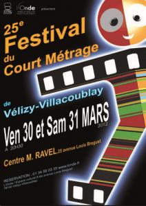 25ème Festival Film Court Vélizy 2012